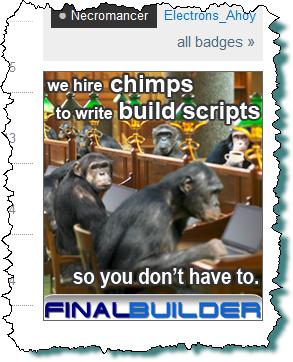 Final Builder advert