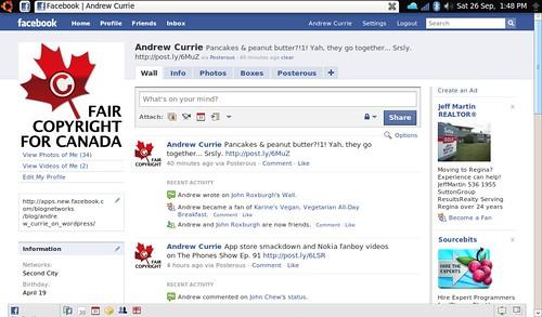 Facebook on Jolicloud