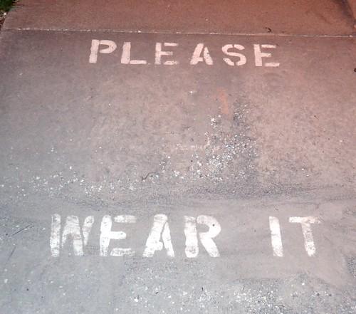 wear what?