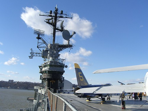 Interepid, on the flight deck