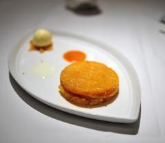 Dessert: Lemongrass Pineapple Tarte Tatin