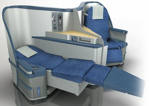 New US Airways Business Class Seat