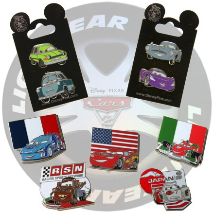 'Cars 2' Pins for Disney Parks