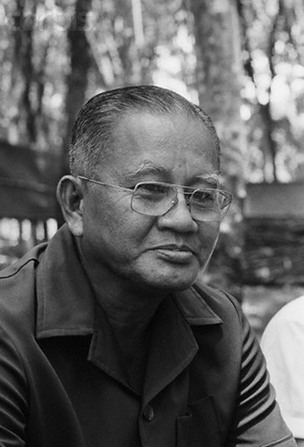 General Duong Van Minh, President of South Vietnam for a few days before the country fell into Communist hands