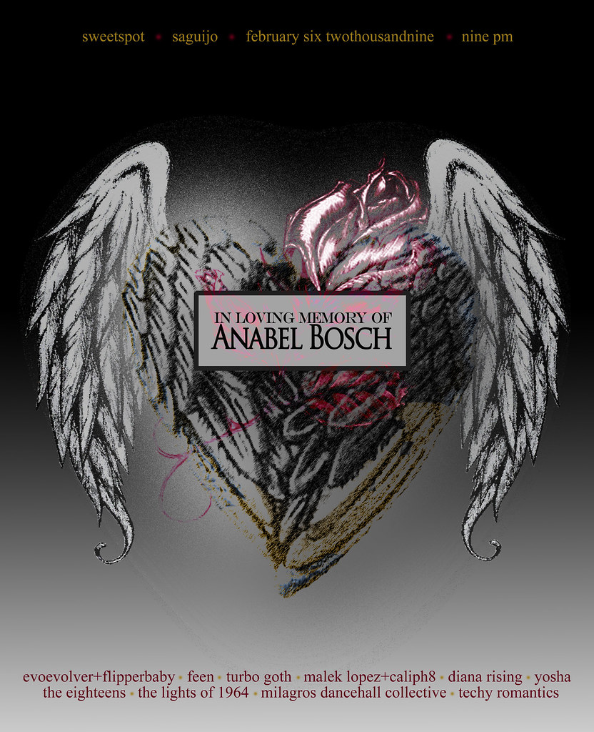 IN LOVING MEMORY OF ANABEL BOSCH