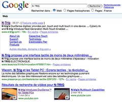 N-TRIG - Recherche Google