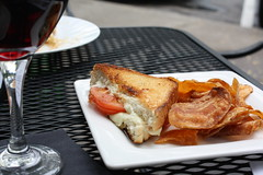Grilled Cheese & Tomato from Nola's