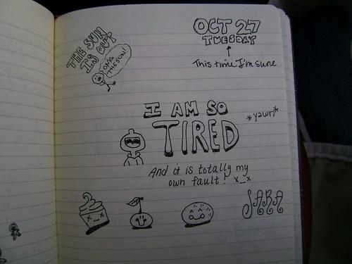 journal doodle