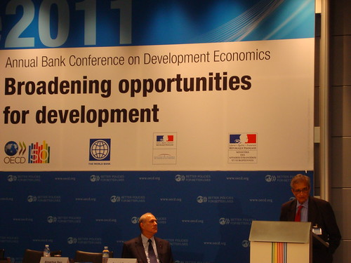Amartya Sen (Harvard University) at the ABCDE 2011