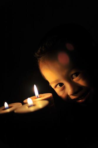 Nawfal Najmi & his candles
