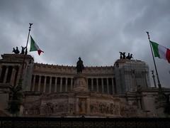 Rome- Monument to Vittorio Emanuele II