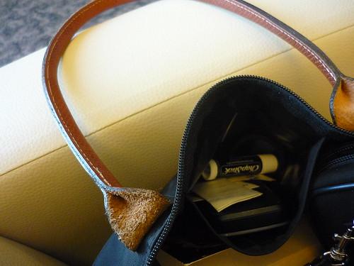 My handbag's inside-pocket