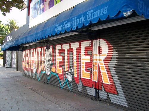 Seventh Letter graffiti
