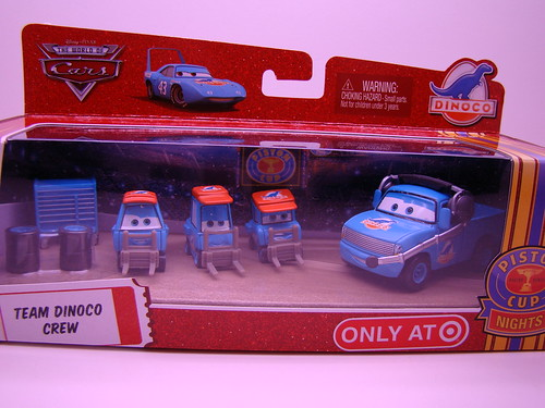 Dinoco PitCrew Set
