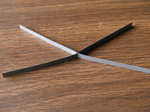 Quilled Spiderweb - Step 1
