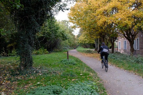 Finsbury Park end of Parkland Walk