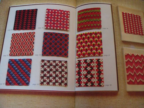 1970s needlepoint book