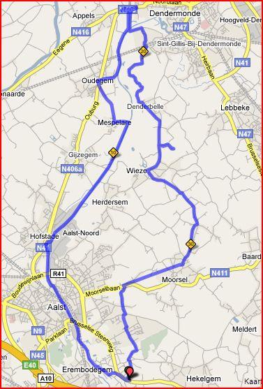 Denderen naar Dendermonde (Winter 2008-2009) (1/6)
