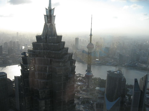 vView from the Shanghai World Financial Centre