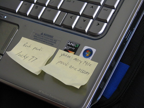 Post-it Note Security