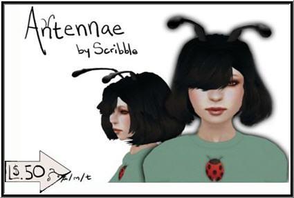 Scribble - 50L Week 10 - Ladybug Antennae