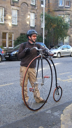 Penny Farthing in Edinburgh