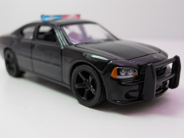greenlight 2006 Dodge Charger black Bandit  (4)