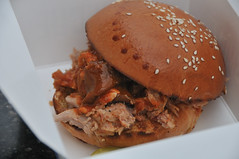 Blue Smoke Pulled Pork at Nationals Park