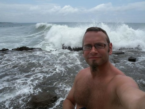 Me and the coast