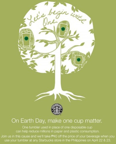 Starbucks One Cup Matters