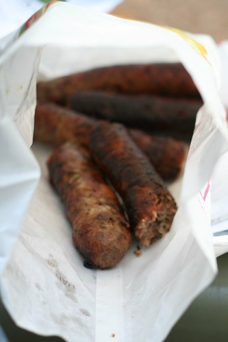 best. sausages. ever. Place Maubert Market.