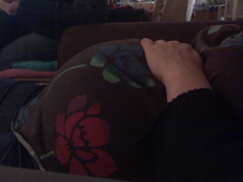 Emily's Belly!  1-18-09