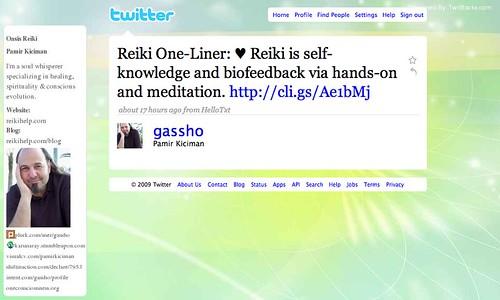 Reiki One-Liners