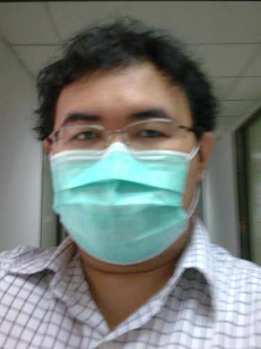 My Geeky Self, with Mask