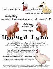 Haunted Farm at Red Gate Farm in Buckland, MA (10/24/09)