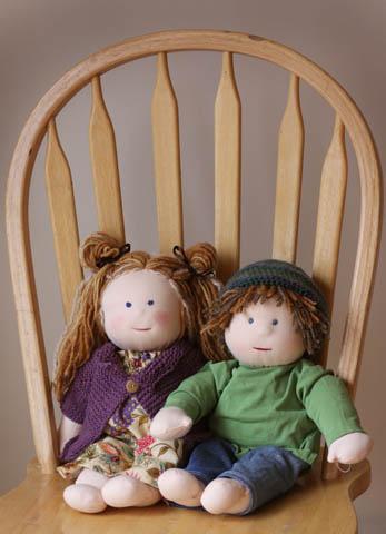 Their new dolls