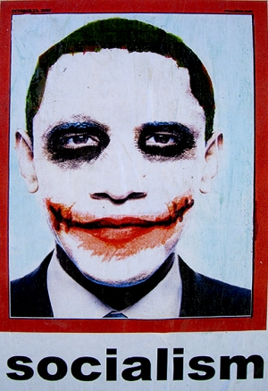 Obama Joker | Imagen: newsbusters