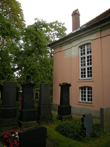 Dorfkirche Schöneberg - Friedhof
