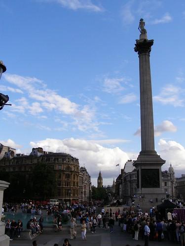 Otra más de Trafalgar Square
