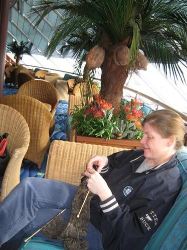 Cruising and Knitting