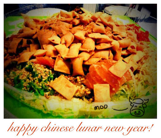 happy moo moo lunar new year!