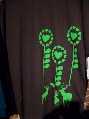 Deer t-shirt (m) - Dora Drimalas
