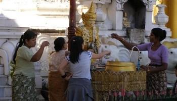 Planetary Posts on Shwedagon