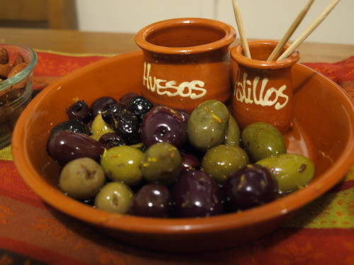 Warm Olives with Garlic & Citrus Zest