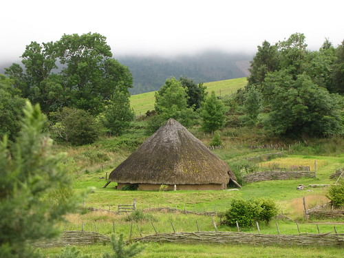 Iron age round house at Archeolink by London looks, on Flickr