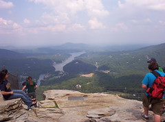On Top of Chimney Rock