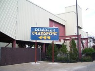 Cedar Point - Disaster Transport New Entrance Sign