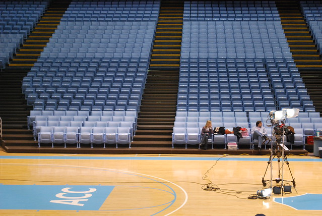 espn college game day: chapel hill