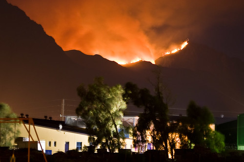 Fire on the Helderberg