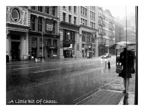 Lluvia en Broadway